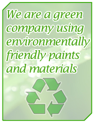 Contactaspray are a green company using environmentally friendly paints and materials